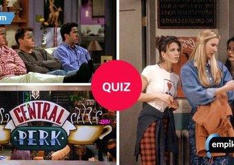"""Quiz: Naprawdę trudne pytania o serial """"Przyjaciele"""""""
