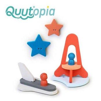 Quut, 3D Quutopia, Zestaw puzzli piankowych, Wyprawa na księżyc, 13 elem.-Quut