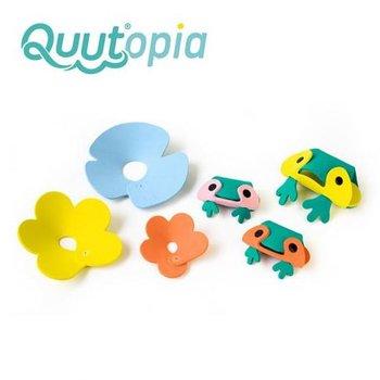Quut, puzzle piankowe 3D Żabki-Quut