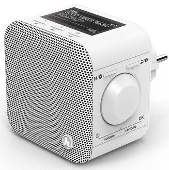 Radio cyfrowe HAMA DIR45BT, DAB+, Internet Radio, App, Bluetooth, Białe-Hama