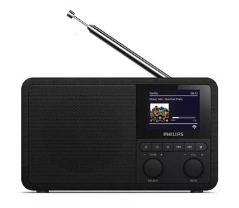 Radio internetowe PHILIPS TAPR802/12, Czarny-Philips