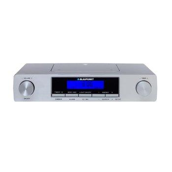 Radio kuchenne BLAUPUNKT KR12SL, FM, Alarm, Timer, srebrne-Blaupunkt