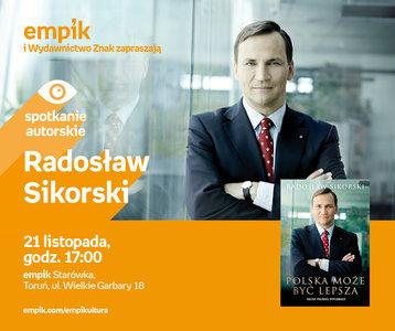 Radosław Sikorski   Empik Starówka