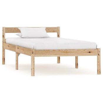 Rama łóżka vidaXL, brązowa, 90x200 cm-vidaXL