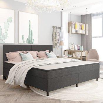 Rama łóżka VIDAXL, szara, 200x200 cm-vidaXL