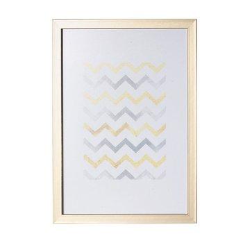 Ramka DEKORIA Simple Gold Bold, 30x40 cm-Dekoria