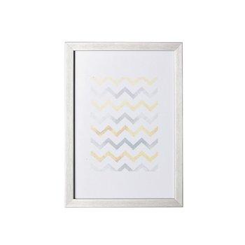 Ramka DEKORIA Simple Silver Bold, 21x30 cm-Dekoria