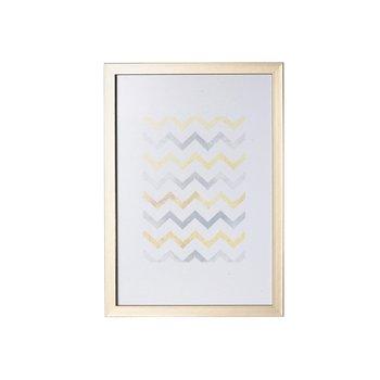 Ramka DEKORIA Simple, złota, 21x30 cm-Dekoria