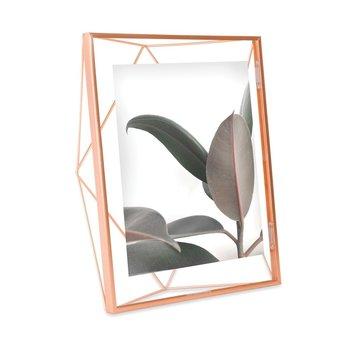 Ramka na zdjęcia UMBRA Prisma, miedziana, 20 x 25 cm -Umbra