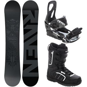 Raven Zestaw Snowboard Solid Steel 162cm Wide Raven Sport Sklep Empik Com