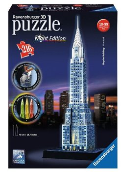 Ravenburger, puzzle 3D, Chrysler Building