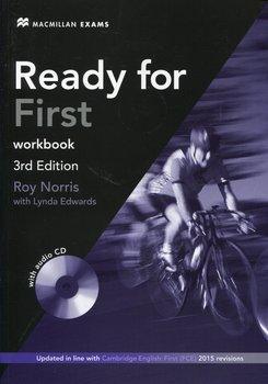 Ready for First. Workbook + CD bez klucza odpowiedzi-Norris Roy, Edwards Lynda