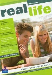 Real life. Elementary students book. Kurs przygotowujący do matury-Hobbs Martyn, Keddle Julia Starr, Umińska Marta