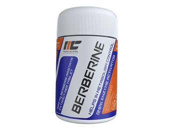 Real Pharm, Muscle Care Berberine, 500 mg, 90 tabletek-Real Pharm