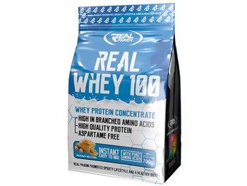 Real Pharm, Odżywka białkowa, Real Whey, 700 g, masło orzechowe-Real Pharm