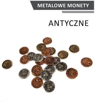 Rebel, zestaw metalowych monet Antyczne-Rebel