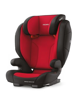 Recaro Monza Nova Evo Seatfix, Fotelik samochodowy, 15-36kg, Racing Red-Recaro