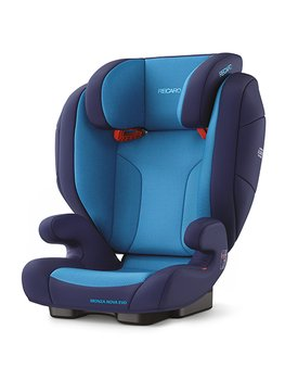Recaro Monza Nova Evo Seatfix, Fotelik samochodowy, 15-36 kg, Xenon Blue-Recaro