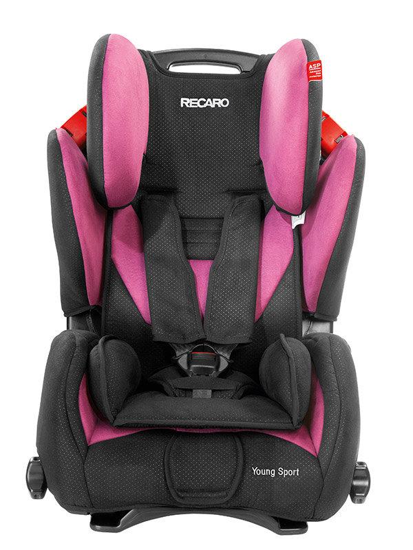 recaro young sport fotelik samochodowy 9 36 kg pink. Black Bedroom Furniture Sets. Home Design Ideas