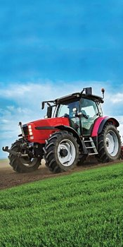Ręcznik DETEXPOL Traktor, zielony, 70x140 cm -Detexpol