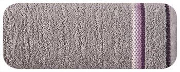 Ręcznik EUROFIRANY Oliwia 09, taupe, 70x140 cm -Eurofirany