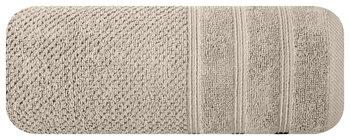 Ręcznik EUROFIRANY Pop, beżowy, 50x90 cm -Eurofirany