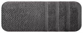Ręcznik EUROFIRANY Pop, stalowy, 50x90 cm -Eurofirany