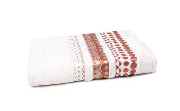 Ręcznik FaRO Silver, Froto, ecru, 70x140 cm -Faro