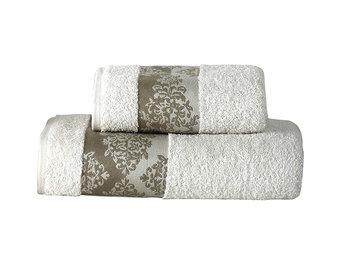 Ręcznik Miss Lucy Kol. Alinda 01, ecru, 70x140 cm -FLORENTYNA