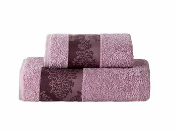 Ręcznik Miss Lucy Kol. Alinda 03, liliowy, 50x90 cm -FLORENTYNA