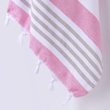 Ręcznik plażowy FLHF Santorini, 90x170 cm-FLHF