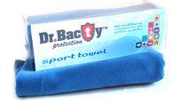 Ręcznik szybkoschnący, Dr. Bacty, granatowy, 63,5x150 cm