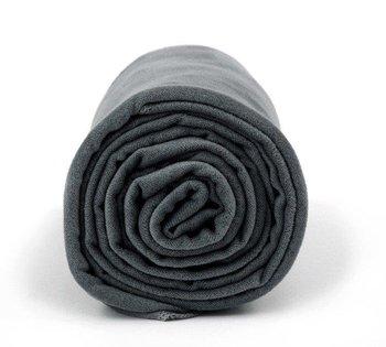 Ręcznik treningowy Dr.Bacty XL 70 x 140 cm ciemnoszary-Dr.Bacty