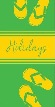 Ręcznik welurowy FARO Miramare Holidays 010, 70x140 cm-Faro