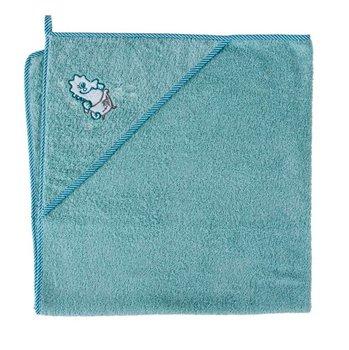 ręcznik z kapturkiem-okrycie kąp.100x100 Konik morski-Ceba Baby