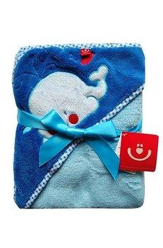 ręcznik z kapturkiem-okrycie kąp.OKR-MFBX-Bobo Baby