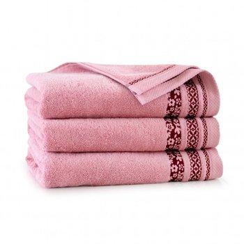 Ręcznik ZWOLTEX Garden, 50x90 cm, pudrowy róż-Zwoltex