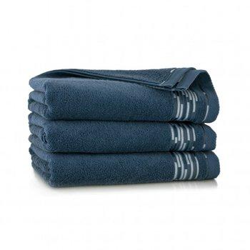Ręcznik ZWOLTEX Grafik, 30x50 cm, indygo-Zwoltex