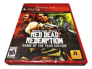 Red Dead Redemption - Game Of The Year Edition-Rockstar Games