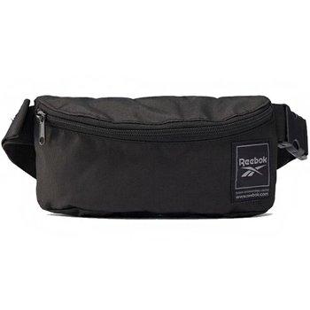 Reebok, Saszetka na pas, Workout City Bag FQ5285, czarny, 6x23x10.5 cm-Reebok