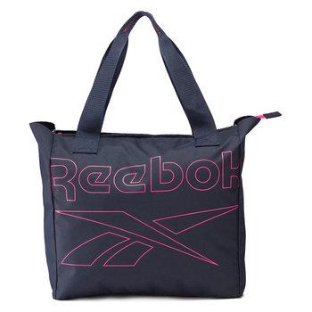 Reebok, Torba treningowa, Essentials Tote GH0098, granatowy, 29,5L-Reebok