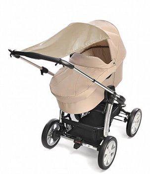 Reer, Daszek przeciwsłoneczny/Osłona do wózka UV50, Beżowy-Reer