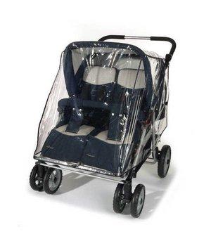 Reer, Folia przeciwdeszczowa na wózek podwójny, szeroki -Reer