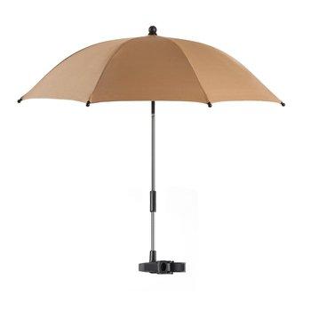 Reer, Parasolka przeciwsłoneczna do wózka, UV50+, Brązowy-Reer