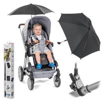 Reer, Parasolka przeciwsłoneczna do wózka, UV50+, Czarna -Reer