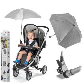 Reer, Parasolka przeciwsłoneczna do wózka, UV50+, Szara -Reer