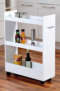 Regał kuchenny KESPER trzypoziomowy, biały, 79x22 cm-Kesper