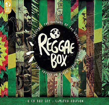 """Reggae Box-Bob Marley, The Wailers, Peter Tosh, Lee """"Scratch"""" Perry & The Upsetters, U-Roy, Isaacs Gregory, Cliff Jimmy"""