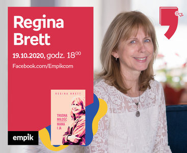 Regina Brett – Spotkanie | Wirtualne Targi Książki