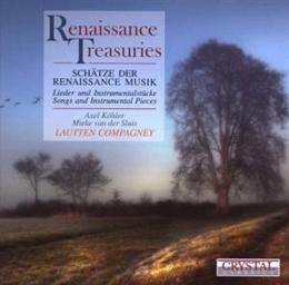 Renaissance Treasuries-Van der Sluis Mieke, Lautten Compagney